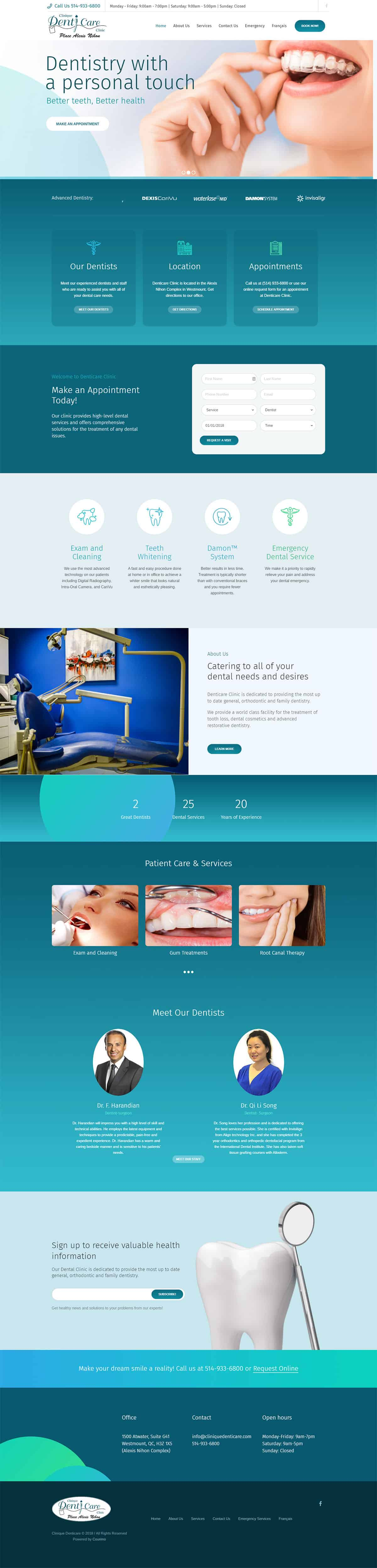 DentiCare-Website-Development-Project